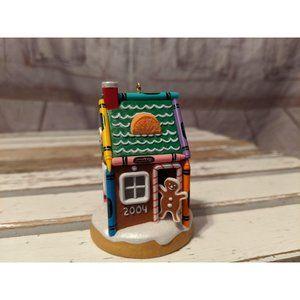 Hallmark Keepsake 2004 Gingerbread Home Crayola Cr